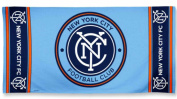 New York City FC McArthur Blue Cotton Beach Towel