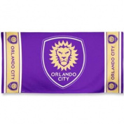Orlando City SC McArthur Purple Cotton Beach Towel