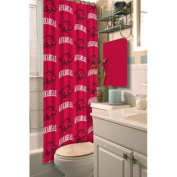 Arkansas Razorbacks Fabric Shower Curtain