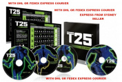Shaun T's FOCUS T25 GAMMA Phase DVD Workout WITH DHL OR FEDEX COURIER