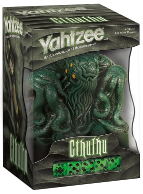 Cthulhu Collector's Edition Yahtzee Dice Game