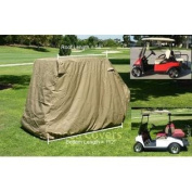 Golf Cart Storage Cover for EZGo, Club car 4 Seater with 2 Seater Roof up to 150cm L