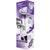 Merchants of Golf Tour X Purple Size 3 Ages 12+- LH 5pc Jr Set w/Stand Bag