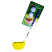 Le Petit Sports - Golf Club with Oversize Foam Head - Ages 2 & 3 for Left & Right Handers with Balls & Flag (Easy & Safe
