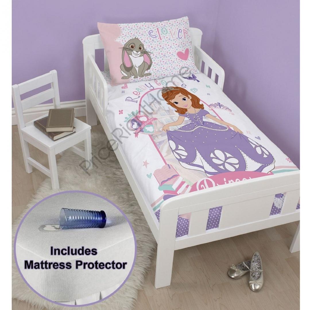 Disney Sofia The First Academy Juniortoddler Bed Duvet Cover Set