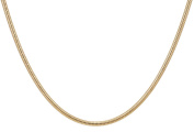 14Kt Gold-Filled Snake Chain Necklace 1 mm 18""