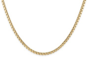 14Kt Gold-Filled Box Chain Necklace 1.5 mm 18""