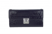 Marc by Marc Jacobs Schooly Bubble Patent Leather Wallet, Black