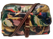 Patricia Nash Lamia Leather Satchel Winter Bloom