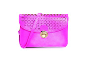 "Pixie Mood ""Vicky"" Fuchsia Vegan Leather Pouch"