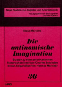 Die Antinomische Imagination [GER]