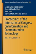 Proceedings of the International Congress on Information and Communication Technology