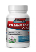 valerian root capsules - Valerian Root Extract 4:1 125mg - Improve Sleeping Habits with Natural Valerian Root Supplement