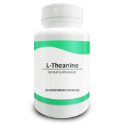 Pure Science L-Theanine 400mg - Natural Relief for Anxiety & Stress - 50 Vegetarian Capsules