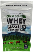 Grass Fed Whey Protein Powder Concentrate | Natural and Unflavored | Non GMO and Gluten Free | 0.5kg