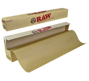 RAW Unrefined Parchment Paper Roll 400mm x 15m