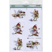 Sugar Nellie Topper Sheet 22cm x 31cm -Christmas Magic