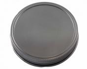 Stainless Steel Storage Lids Caps with Silicone Seals for Mason Jars
