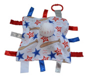Baseball Sensory Baby Jack Security Educational Tag Baby Blanket