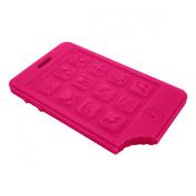 Jellystone Smart Phone Teether, Watermelon Pink