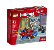 LEGO Juniors (55pcs) Spider-Man Cars Toy for Kids Figures Building Block Toys