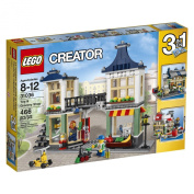 LEGO Creator (466pcs) Toy and Grocery Shop Toy for Kids Figures Building Block Toys