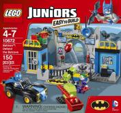 LEGO Juniors (150pcs) Batman Defend the Bat Cave Toy for Kids Figures Building Block Toys