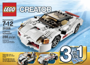 LEGO Creator (286pcs) Highway Speedster Toy for Kids Figures Building Block Toys