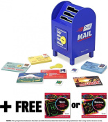 Stamp and Sort Mailbox Toy+ FREE Melissa & Doug Scratch Art Mini-Pad Bundle [40204]