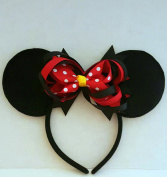 Minnie Mouse Ears with Exchangeable Bows