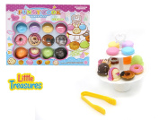 Little Treasures 14-Piece Dessert Tower for Ages 3 and Up
