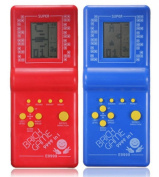 . Newest Childhood Classic Tetris Hand Held LCD Electronic Game Toys Fun Brick Game Riddle Educational Toys