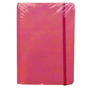A5 Casebound Notebook - Pink - 200 Pages - Graph Ruled 5mm - Size 8.3 x 5.8