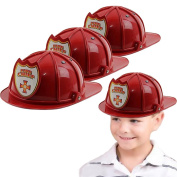Toy Cubby Fireman Hard Plastic Chief Hat