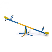 Swirling Fun SeeSaw - Goes Up & Down, Spins 360 Degrees - Twist On Old Nostalgic Item - Made Up Constructed Steel Tubing, Plastic Contoured Seats For Comfortable Ride*