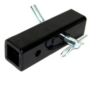 5.1cm To 2.5cm - 0.6cm Tow Hitch Reducer Adaptor Towing Trucks Trailer With Safety Pin