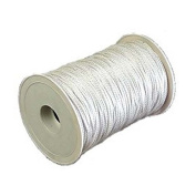 AMR300-21600.016 * 90m Aamstrand Double Braided Nylon Rope - White - 1cm