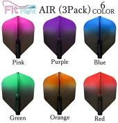 COSMO DARTS Fit Flight Air Black Gradient Colour Shape