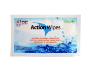 Action Wipes Individually Wrapped Body Wipes Bag