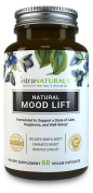 Natural Mood Lift - Relaxes Mind & Body, Calms, Boosts Serotonin, Reduces Anxiety | IntraNaturals | 3rd Party Tested, Vegan, Non-GMO - Made with 5-HTP, Magnesium, L-Methionine, Vitamin B5 & B6