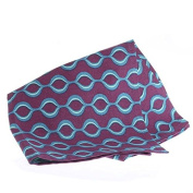 Factory Direct Craft® Package of 12 Colourful Purple and Teal Patterned Cloth Napkins