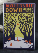Watership Down Book Cover Refrigerator Magnet.
