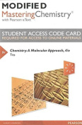Modified Mastering Chemistry with Pearson Etext -- Standalone Access Card -- For Chemistry