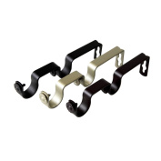 Pair of Double Brackets for 2.5cm Rod