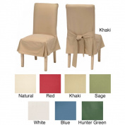 Classic Cotton Duck Dining Chair Slipcovers