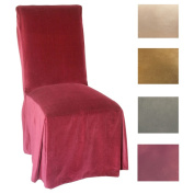 Microsuede Parsons Chair Slipcover