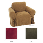 Ultimate Suede Chair Slipcover