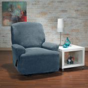 Hanover Stretch Plush 1-Piece Recliner Slipcover
