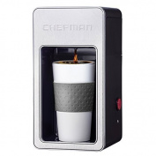 Chefman RJ14-M-S-Gr Single Serve Coffee Maker, Grey by Chefman