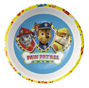 Zak! Designs Cereal Bowl Featuring Marshall Rubble and Chase from Paw Patrol, Break-resistant and BPA-free Melamine